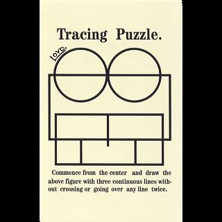 Tracing Puzzle - Trade Card