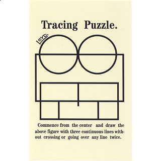 Tracing Puzzle - Trade Card