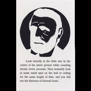 General Grant Puzzle - Trade Card