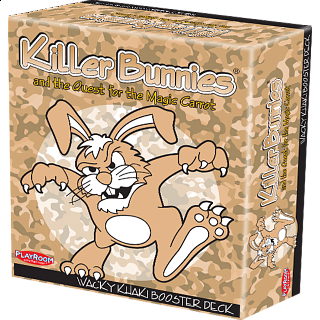 Killer Bunnies Quest - Wacky Khaki Booster Deck