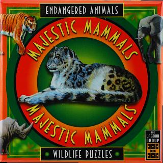 Majestic Mammals - Endangered Animals - Wildlife Puzzles