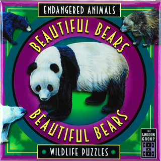 Beautiful Bears - Endangered Animals - Wildlife Puzzles
