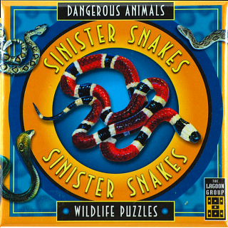 Sinister Snakes - Dangerous Animals - Wildlife Puzzles