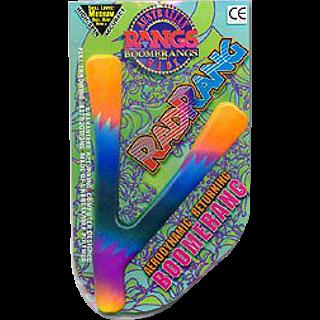 Rad Rang - polymer boomerang