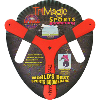 Tri Magic - polymer sports boomerang