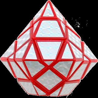 Diamond Cube - Red Body