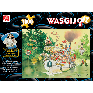 Wasgij Original #12: The Mouth of the River!