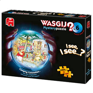 Wasgij Mystery #6: Camping Commotion