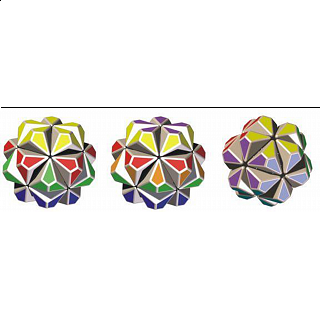 Flower - Rotational Puzzle - Kit