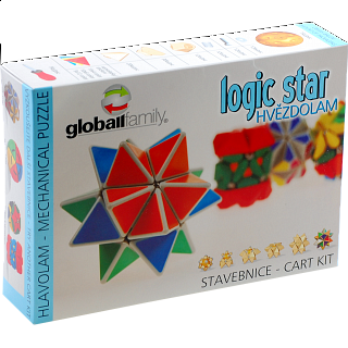 Logic Star - Rotational Puzzle - Kit