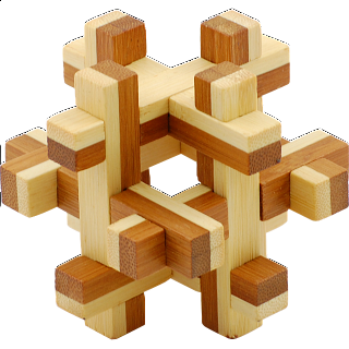 Puzzle Solution for Bamboo Wood Puzzle 1