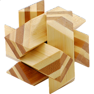 Puzzle Solution for Bamboo Wood Puzzle 3