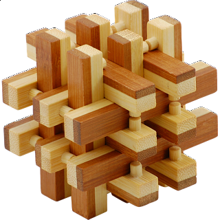 Puzzle Solution for Bamboo Wood Puzzle 4