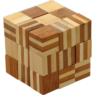 Bamboo Wood Puzzle 5