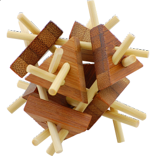 Puzzle Solution for Bamboo Wood Puzzle 6