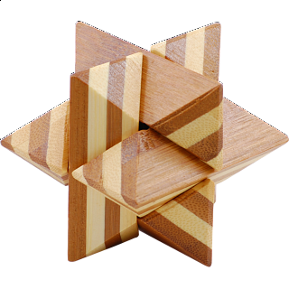 Puzzle Solution for Bamboo Wood Puzzle 9