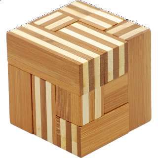 Puzzle Solution for Bamboo Wood Puzzle - Soma Qube