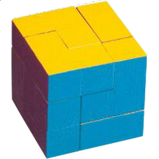 Puzzle Solution for Colourful Cube