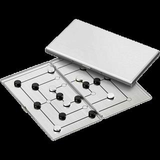 Puzzle Solution for Nine Men's Morris - Aluminum