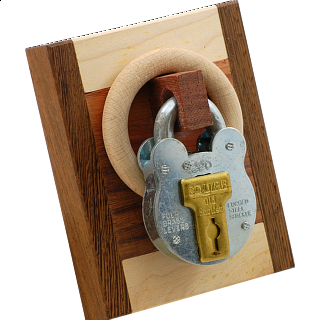 Puzzle Solution for Schloss mit Holz (Lock with Wood)