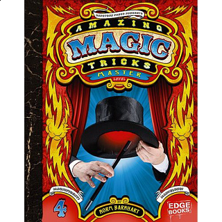 Amazing Magic Tricks - Master Level - book - Hardcover