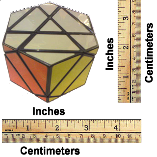 3 Fold Hexagonal Prism - Black Body