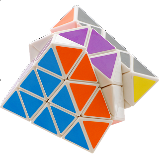Taiwan Turn Face Octahedron - White Body