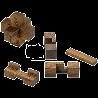 Puzzle Solution for Timonen's Burr Simple