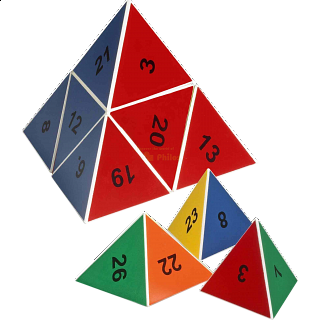 Puzzle Solution for Number Pyramid