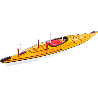 Cribbage Board - Kayak