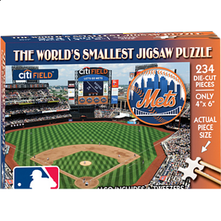 World's Smallest Jigsaw Puzzle - MLB - New York Mets