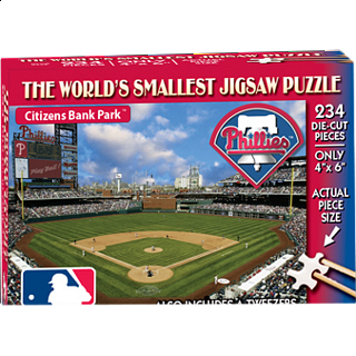 World's Smallest Jigsaw Puzzle - MLB - Philadelphia Phillies