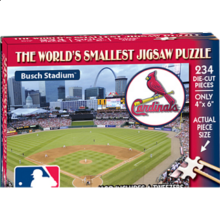 World's Smallest Jigsaw Puzzle - MLB - St. Louis Cardinals