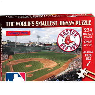 World's Smallest Jigsaw Puzzle - MLB - Boston Red Sox