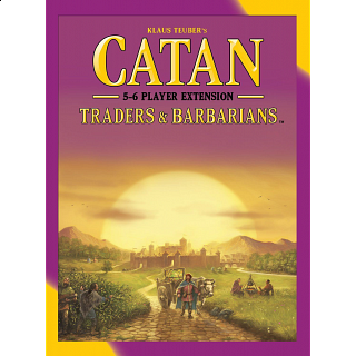 Catan: Traders and Barbarians - 5-6 player expansion