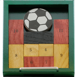Puzzle Solution for Fussballtor