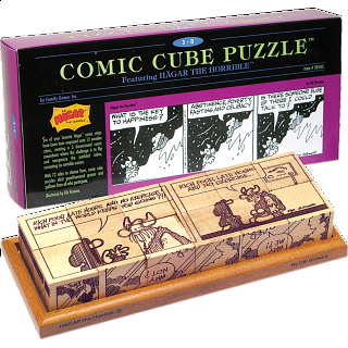Comic Cube Puzzle - Hagar the Horrible