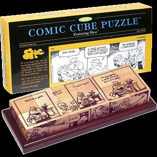 Comic Cube Puzzle - Shoe