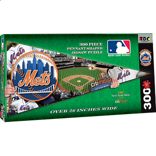New York Mets MLB Pennant Shape