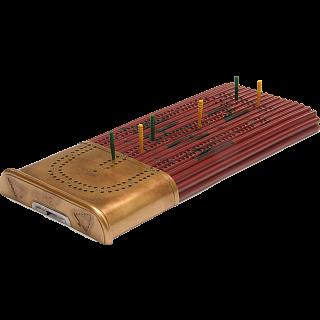 Cribbage Board - Hunting Shell