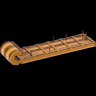 Cribbage Board - Toboggan