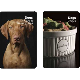 Playing Cards - Dog Pet Care/Training Tips and Recipes
