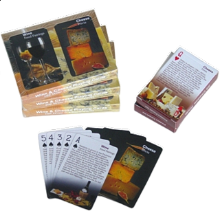 Playing Cards - Wine and Cheese Facts