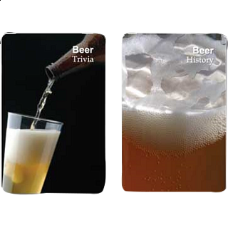 Playing Cards - Beer Facts