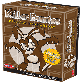 Killer Bunnies and the Quest for the Magic Carrot Chocolate Booster Deck