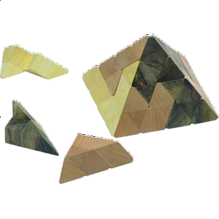 Puzzle Solution for Gizeh Pyramid