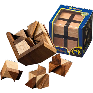Puzzle Solution for Bermuda Cube