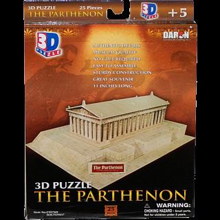 The Parthenon - 3D Jigsaw