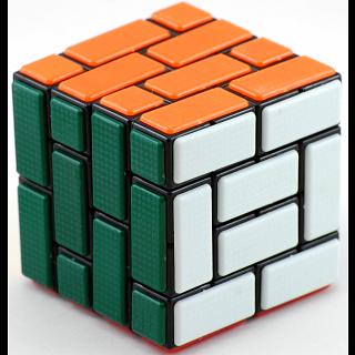 CT 4x4x4 Burr cube - Black Body - Bandaged