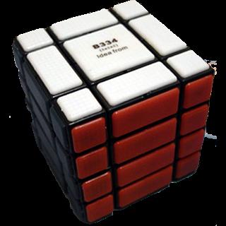 CT 4x4x4 B334 Bandage Cube - Black Body
